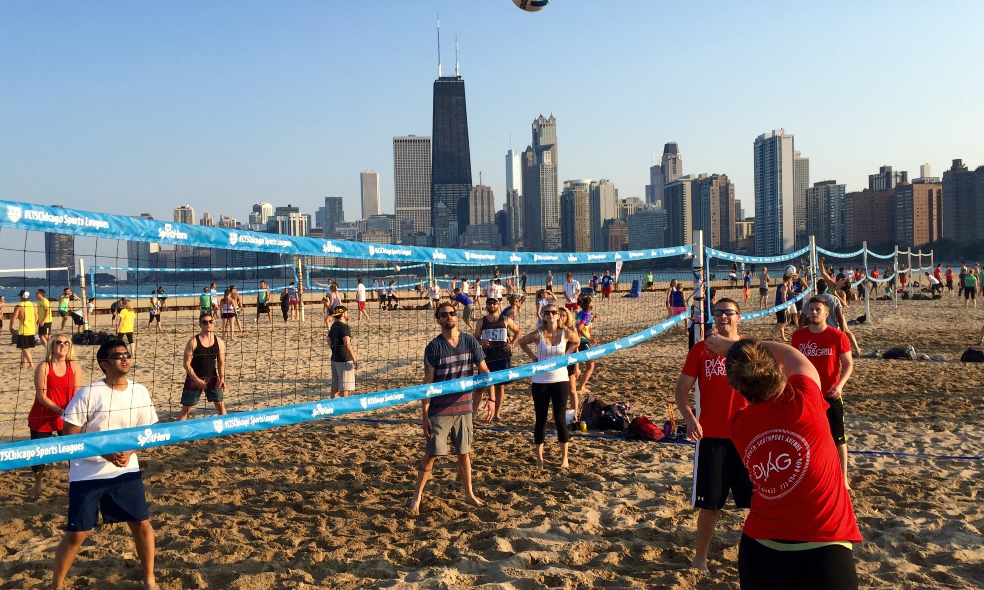 Image result for beach volleyball chicago